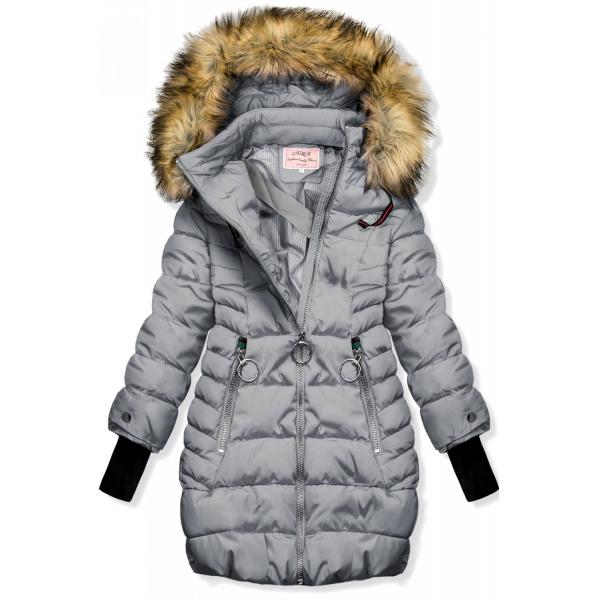 Winter Jacke grau